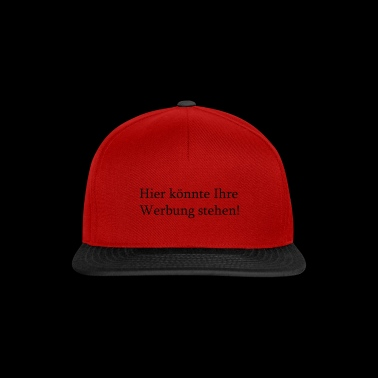 Here could be your advertising! - Snapback Cap