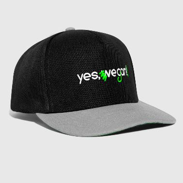 yes we can vegan - Snapback Cap