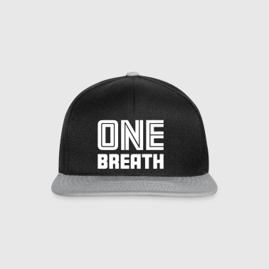 One Breath 2 Freediver - Gorra Snapback