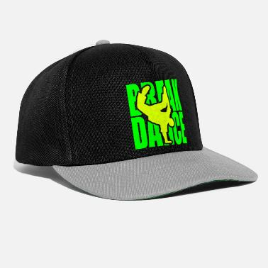 Breakdance Breakdance danza break música silueta Clipart - Gorra Snapback