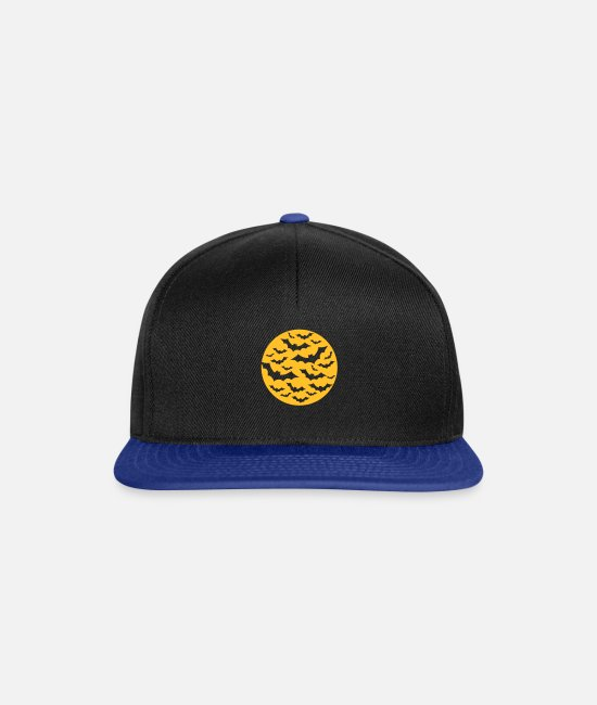 Bats Caps & Hats - Bats - Snapback Cap black/bright royal