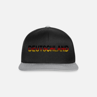 National Deutschland Flagge Fussball national - Snapback Cap