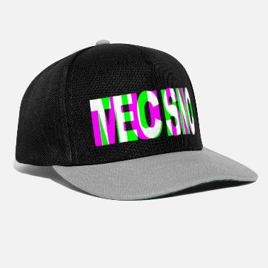 Acide musique techno dj raver dubstep edm trance party - Casquette snapback