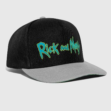 Rick And Morty Offizielles Serienlogo - Snapback Cap