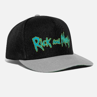 Officialbrands Rick And Morty Title Typography - Snapback Cap