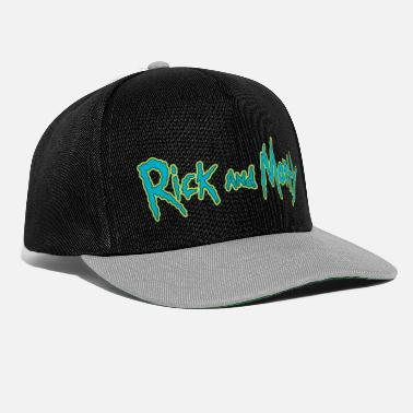 Bestsellers Q4 2018 Rick And Morty Title Typography - Snapback Cap
