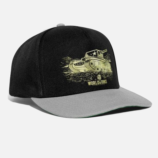 World Of Tanks Cappelli & Berretti - World Of Tanks KV-1 Golden Version - Cappello snapback nero/grigio