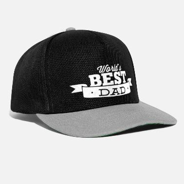 Mejor Padre El mejor padre del mundo 2 mejor padre del mundo - Gorra  snapback 692981ccd65