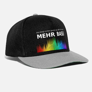 More bass - Snapback Cap