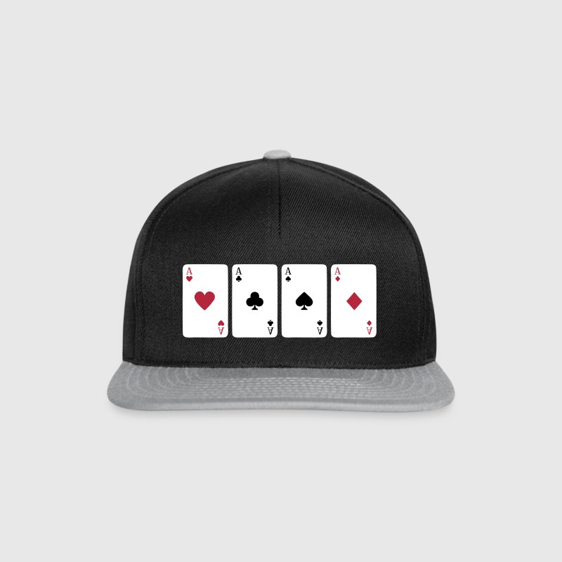 Card Game, Poker, Ace - Snapback Cap