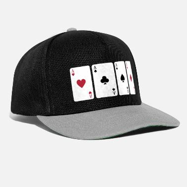 Póker Card Game, Poker, Ace - Gorra Snapback