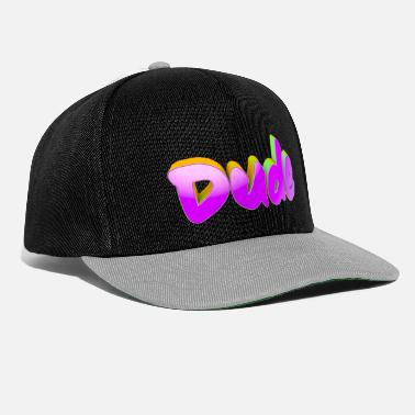 The Dude Dude - Snapback Cap