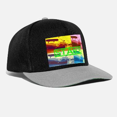 Pop Art Stance Green Tuning Car TT - Snapback Cap