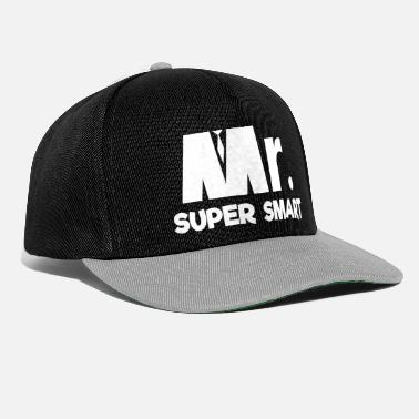 monsieur super intelligent - Casquette snapback