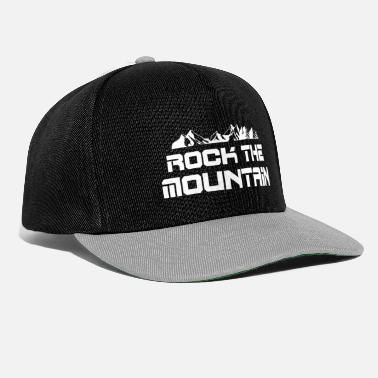 Bergsteigen rock the mountain - Snapback Cap