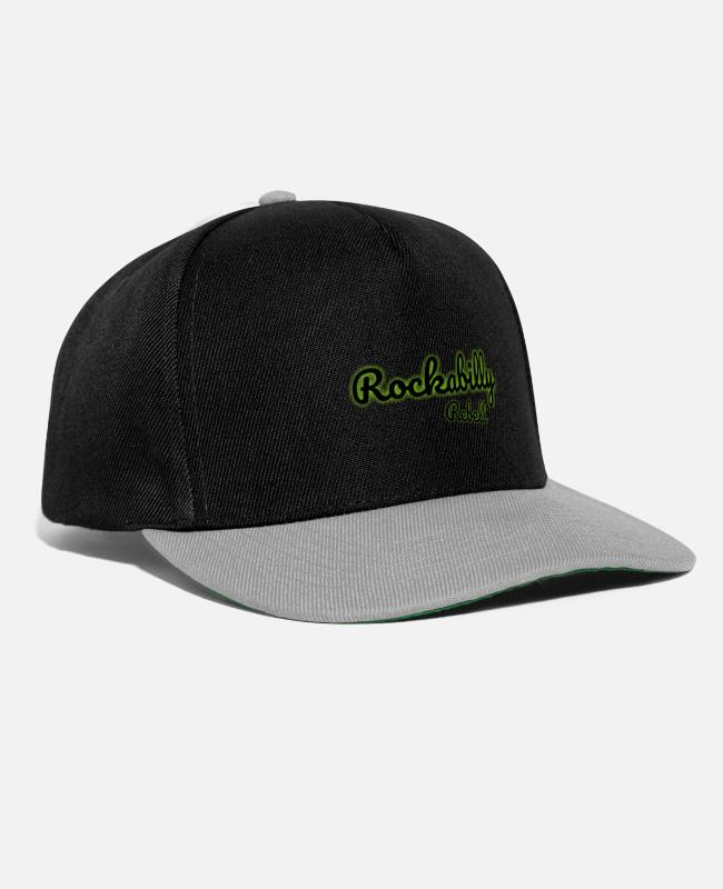Chant Caps & Hats - ROCKABILLY - Snapback Cap black/grey