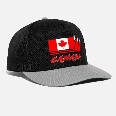 Rocky Mountains Canada flags design / national flag gift - Snapback Cap