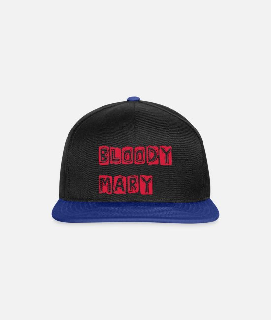 Provocation Caps & Hats - Bloody Mary - Snapback Cap black/bright royal