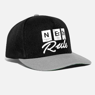 Chimico Funny Nerd Chemistry Shirt Nerds Rule Tee - Cappello snapback