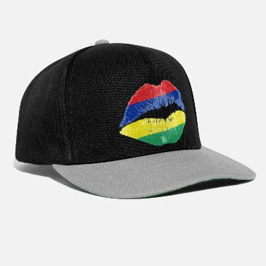 Kissing Lips Kiss (Mauritius) - Cappello snapback