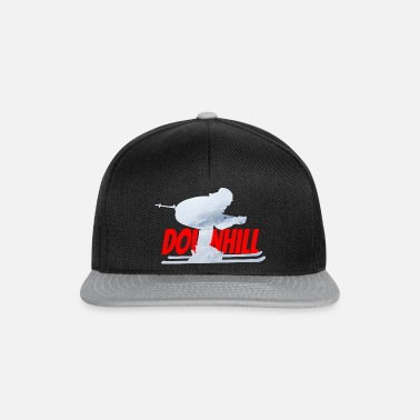 Downhill skieur - Casquette snapback