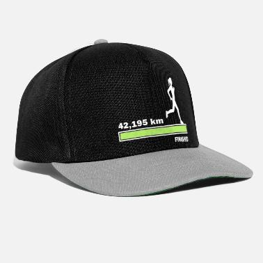 42.195 km finished - Snapback Cap
