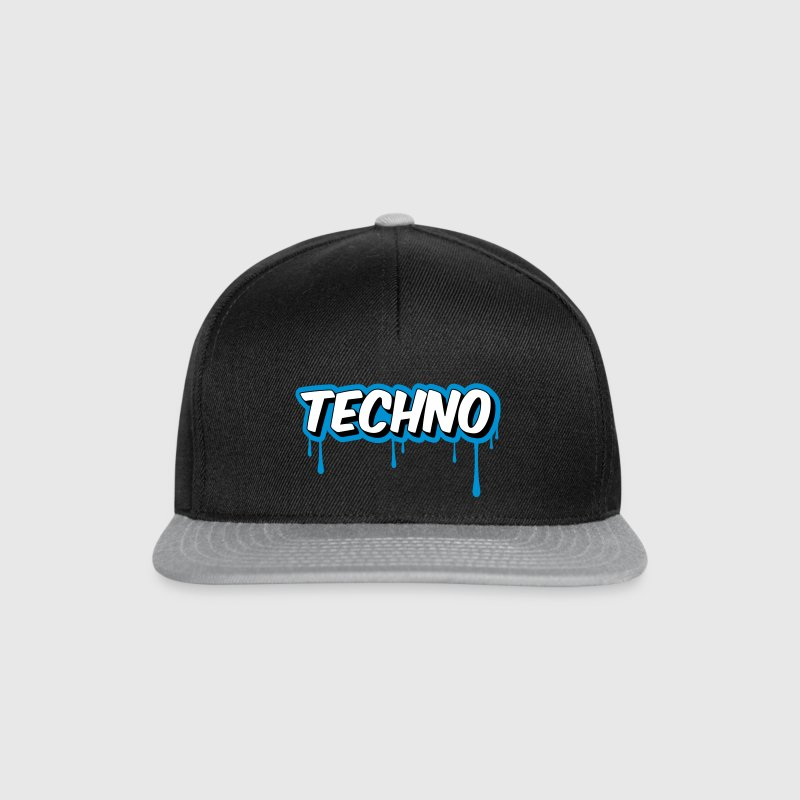 TECHNO - Party - Casquette snapback