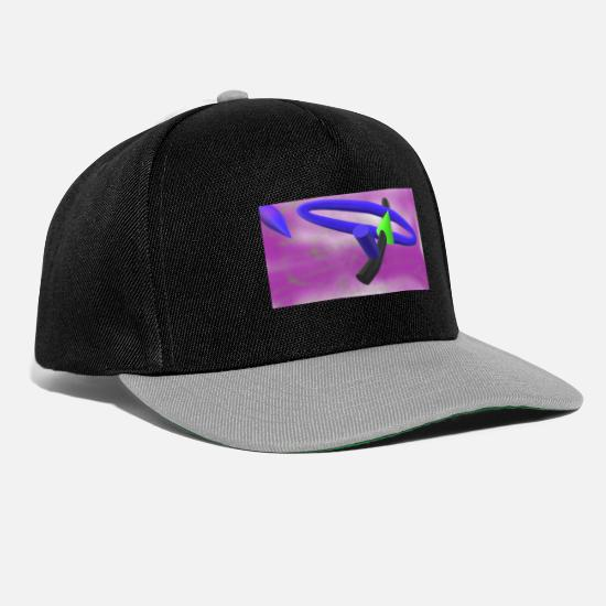 New Rave Caps & Hats - new world - Snapback Cap black/grey