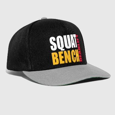 Squat Squat Bench Deadlift - Snapback Cap