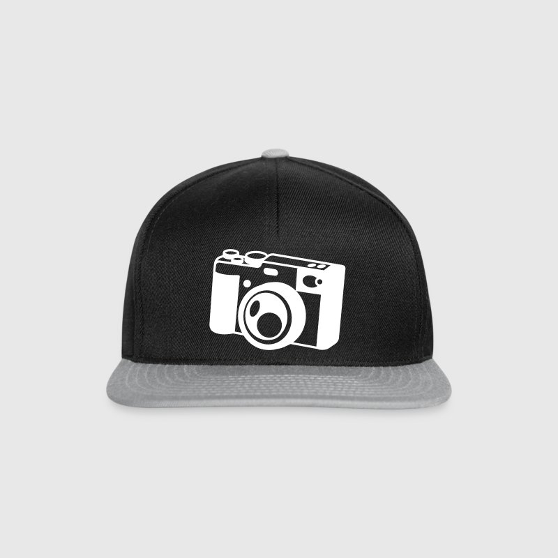 camera old style shutter colour vintage - Snapback Cap