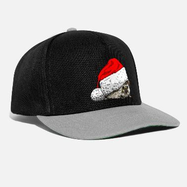 christmas_hedgehog - Snapback Cap