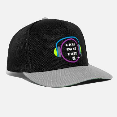Game game gift idea gamble gaming console - Snapback Cap