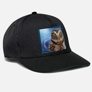 Night Owl burrowing owl - Snapback Cap