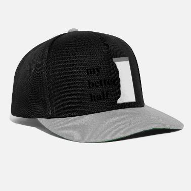 Verkko my better half + your blog etc - Snapback-lippis