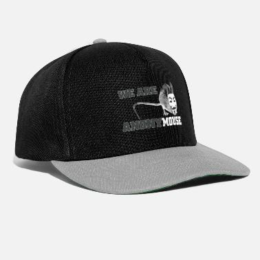 Anonymous we are anonymouse - anonymous - Snapback keps