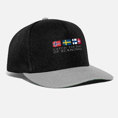 SPIRIT OF SCANDINAVIA grey-lettered - Snapback Cap