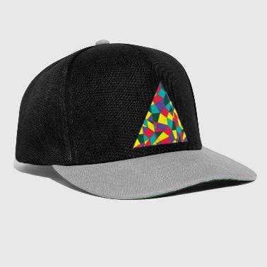 Rave Colored Triangle - Snapback Cap