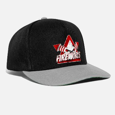 Police feux d'artifice 03 t-shirts - Casquette snapback