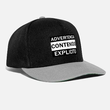 Explicit WARNING CONTENTS EXPLICIT - Snapback Cap