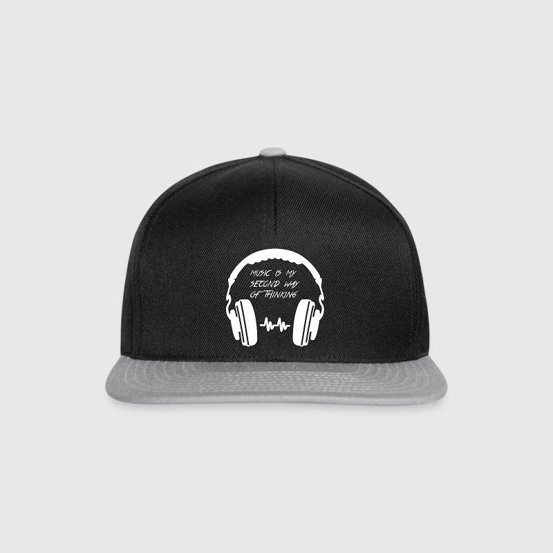 Music-is-my-second way of thinking - Snapback Cap