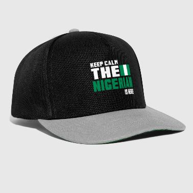 Keep calm the Nigerian is here - Snapback Cap