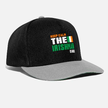 Drapeau National Keep Calm Ireland / Gift National Colours - Casquette snapback