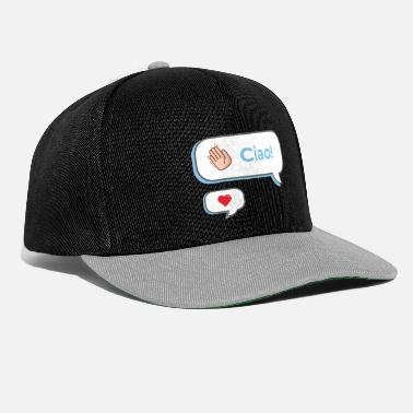 Hello message - Snapback Cap
