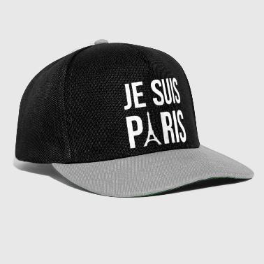 Je suis Paris, I am Paris - Snapback Cap