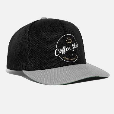Coffee Shop Coffee Shop White - Casquette snapback