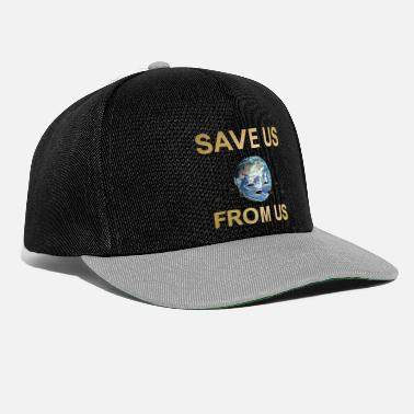 Us SAVE US FROM US - Casquette snapback