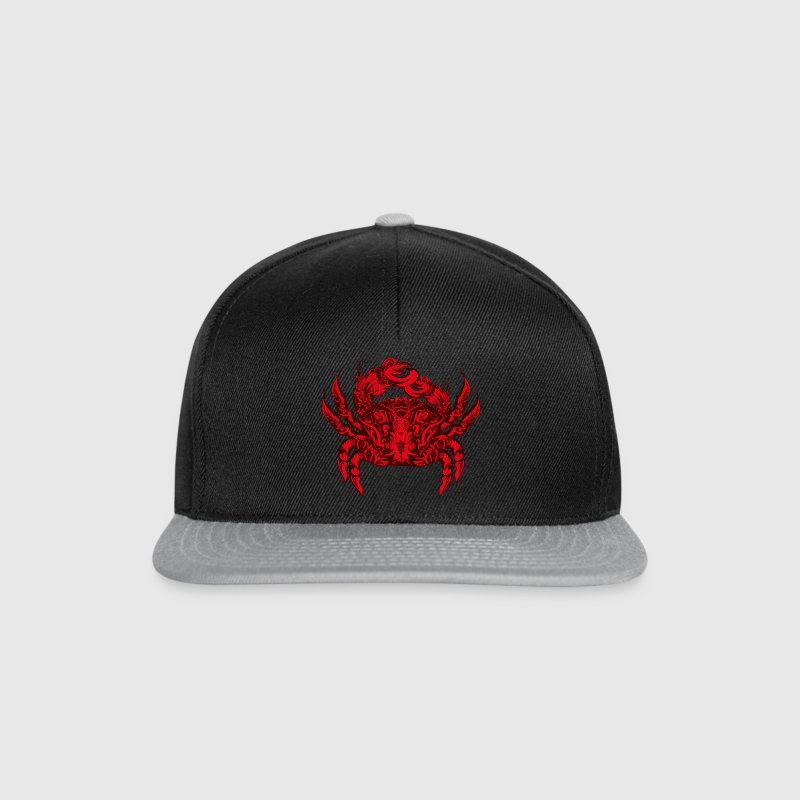 A red king crab - Snapback Cap