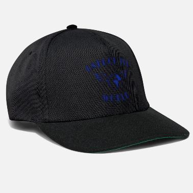 Teksti unfuck the world - Snapback-lippis