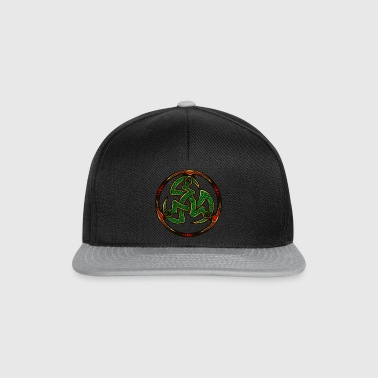 Serpent Triskellion - Snapback Cap
