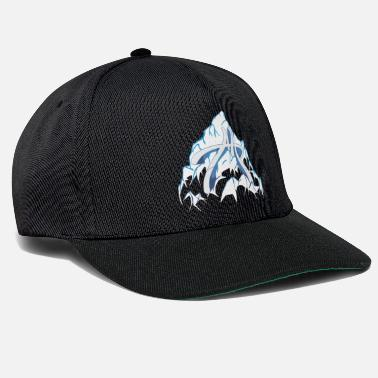Alps alp in the mountain - Snapback Cap